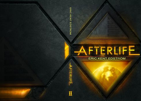 Afterlife coverart/book wrapping by melvindevoor