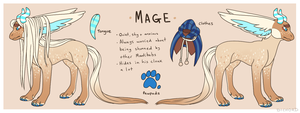 Mage Reference Sheet by Dichord