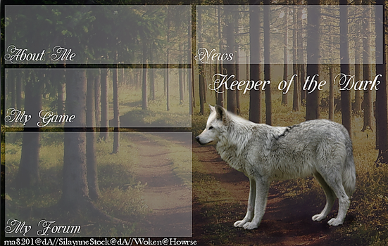 Layout for KeeperoftheDark, on Howrse.com by DiverseCitizen