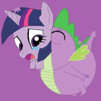 Spike eats Twilight Sparkle by BoysVoreGirls