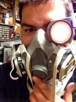 Terminator mask and optical components by Hellblade87