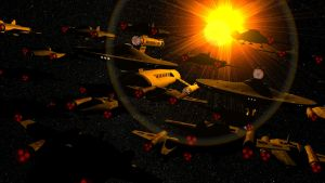 Tactical Fighter Fleet by JayPrower