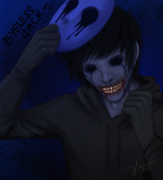 Eyeless Jack (unmasked) by SUCHanARTIST13