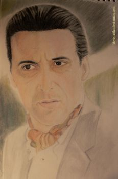 Michael Corleone - The Godfather by daviniasiles
