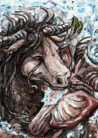 Aceo Munlily by Kirsch-vanderWit