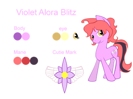 Commission- Ref Sheet by Ariah101