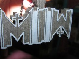 Motionless In White Necklace #1 by iluvtssatl