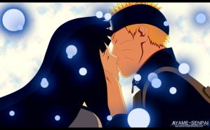 Naruto and Hinata kiss The Last by Ayame-Senpai