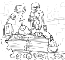 The Death of Robot Joe by CarrieExMachina