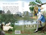 Alice in Wonderland Book Cover by TheCharismaPandaXD