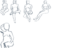 14min Female Poses by gtstyling32