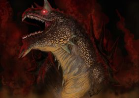 Tarrasque Attack by Virus-91