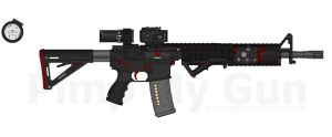 M4 Rifle RC5 by Lord-DracoDraconis