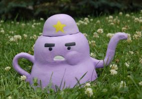 Lumpy Space Princess Teapot by mentalweegee