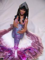 """Aida"" ooak mermaid by AmandaKathryn"