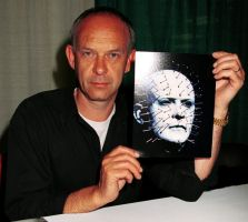 The man who played PINHEAD by GothicHorrorFreak666
