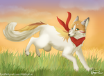 The Kitsune Who Brings the Fire by MattsyKun