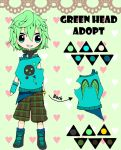 Adopt: Green Head {CLOSED} by Lidfox