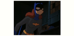 BatGirl noseless and speechless by EarWaxKid