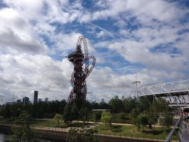 Olympic Park and Cityscape by VestibulumNocturnis