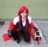 Just Grell Sutcliff by Gala-maia