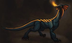Glow Dragon by zii