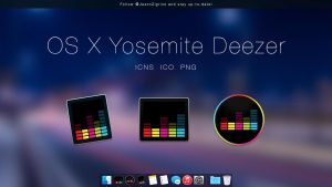 OS X Yosemite Deezer by Ziggy19