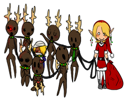 Rudolph the Red-Nosed Re-Dead by Nyappy-muffin