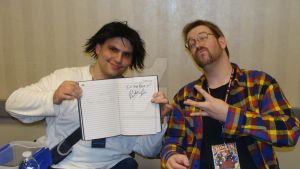 Me with Patrick Seitz by Chaosgamer137