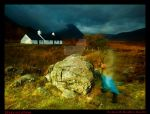 Ghost of Black Rock Cottage by DL-Photography