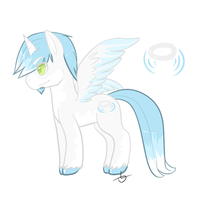 Light pony adopt auction! by IMonsterDrool