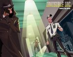 Invisible INC by jennyisdrawing