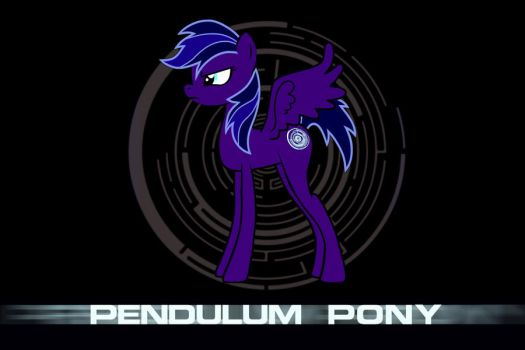 Pendulum Pony: DnB is Magic by TheRealGeemo