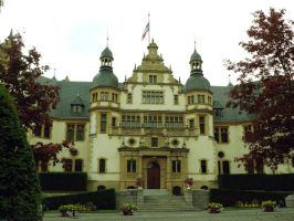 The governor's palace in Metz by Celebryane