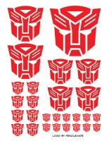 Autobot stickers by Kenthayle