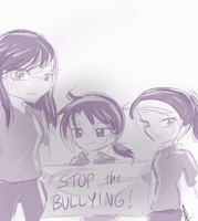 Late Spirit Day Picture : Stop it. by Torosiken-II