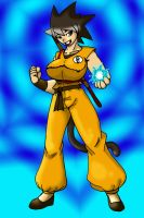 Female Goku by CrazyCowProductions