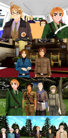 MMD Hetalia - Pulling faces by PikaBlaze