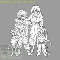 Request: Mike, Zangya, Zoey and Jr for gamerxboy by RyoGenji