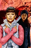 Orphan Black #1 cover F Sarah and Alison by gattadonna