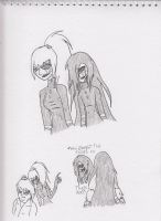 Dangan FNaF AU: Puppets by Kitty-of-Doom524