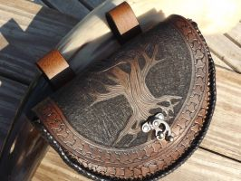 Yggdrasil - Tree of Life Pouch by The-Beast-Man