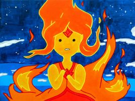 Flame Princess by lifeinacemetery