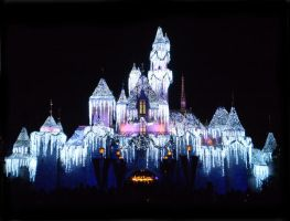 Disneyland Lights by omgitsyourface