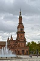 Plaza de Espana by Denisee02