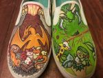 Custom Pokemon Shoes for Amanda by BreannaKayEvans