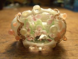 Panorama sugar egg inspired glasswork by fairyfrog