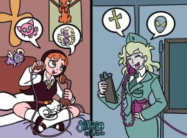 Phillis and Claire by Yamino