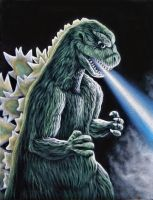 The Roar of Godzilla by BruceWhite