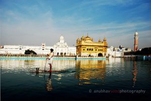 Golden Temple, Amritsar by sasonian37